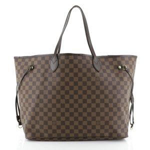 Authentic Louis Vuitton Neverfull GM Damier Ebene
